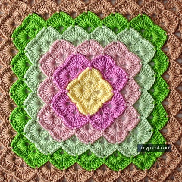 How to crochet a Box stitch - Free crochet pattens