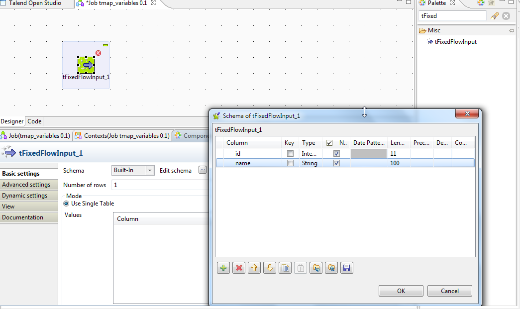 Srinivasan Software Solutions : [TALEND*] Using Variables In