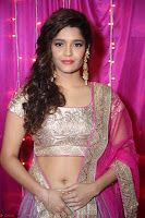 Ritika Sing in Golden Pink Choli Ghagra Cute Actress Ritika Sing ~  027.JPG
