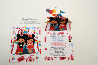 handmade mickey mouse invites