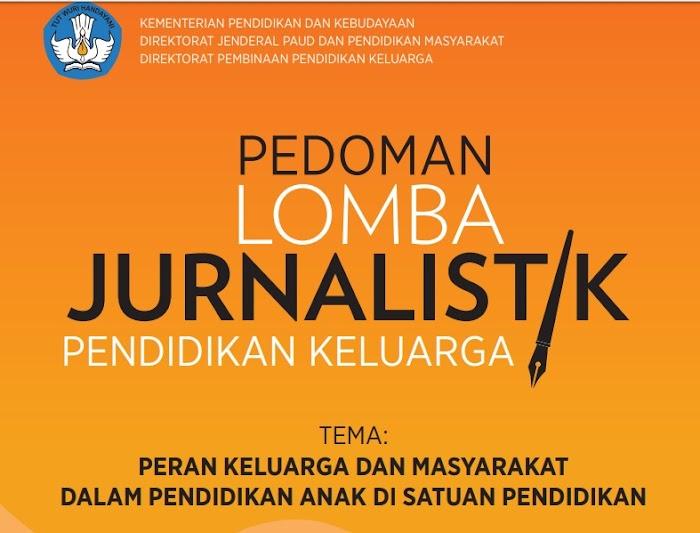 Lomba Jurnalistik Pendidikan Keluarga Tahun 2018