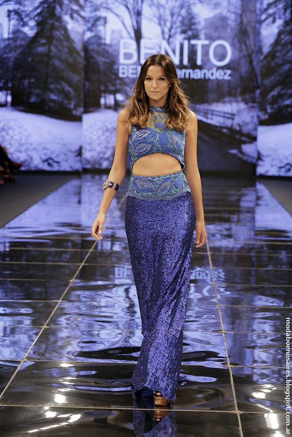 BENITO FERNÁNDEZ otoño invierno 2016 (Haute Couture) para Edición Especial FUCA, Cuidarse está de Moda. Argentina Fashion Week otoño invierno 2016.