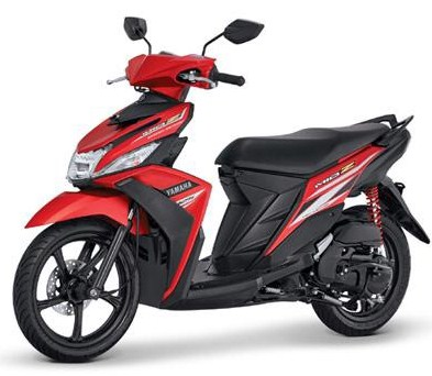 Top modifikasi mio z merah