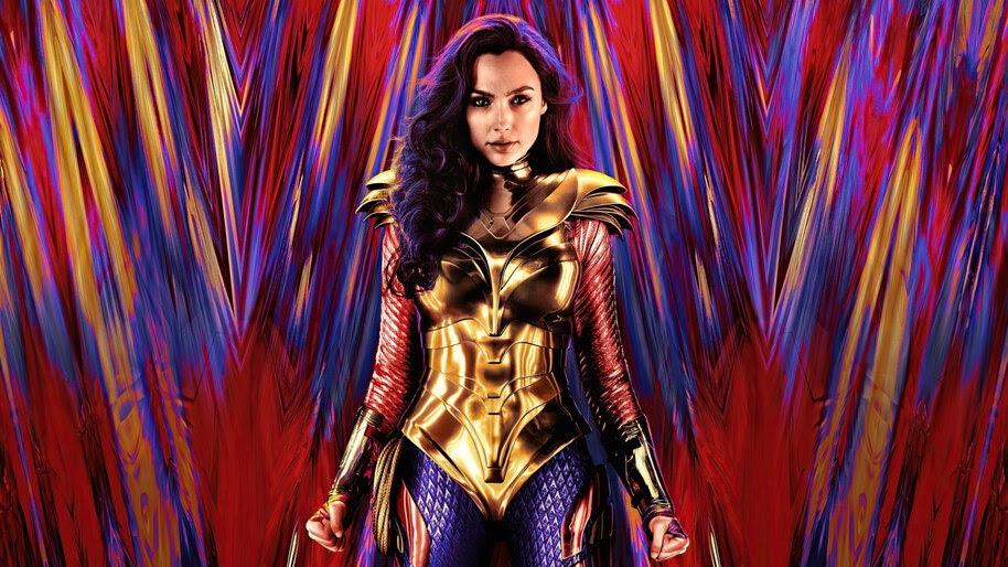Wonder Woman 1984, Golden Armor, Gal Gadot, 4K, #7.1562