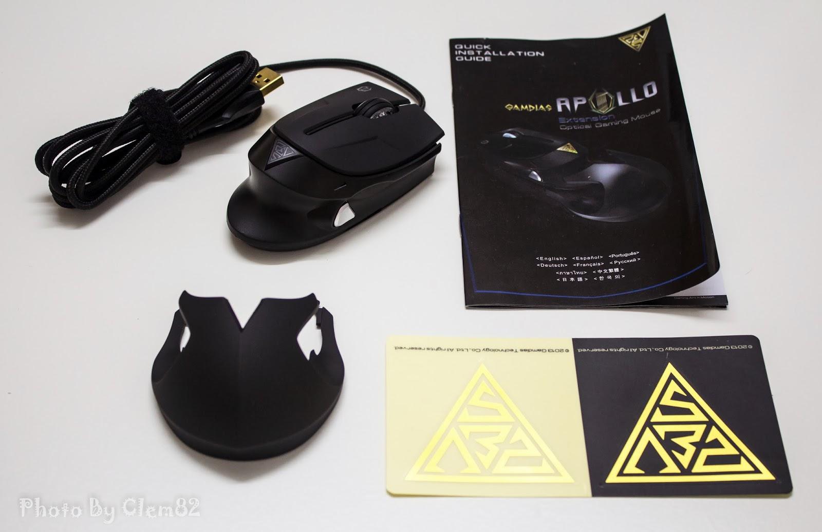 Gamdias Apollo Extension Optical Gaming Mouse 58