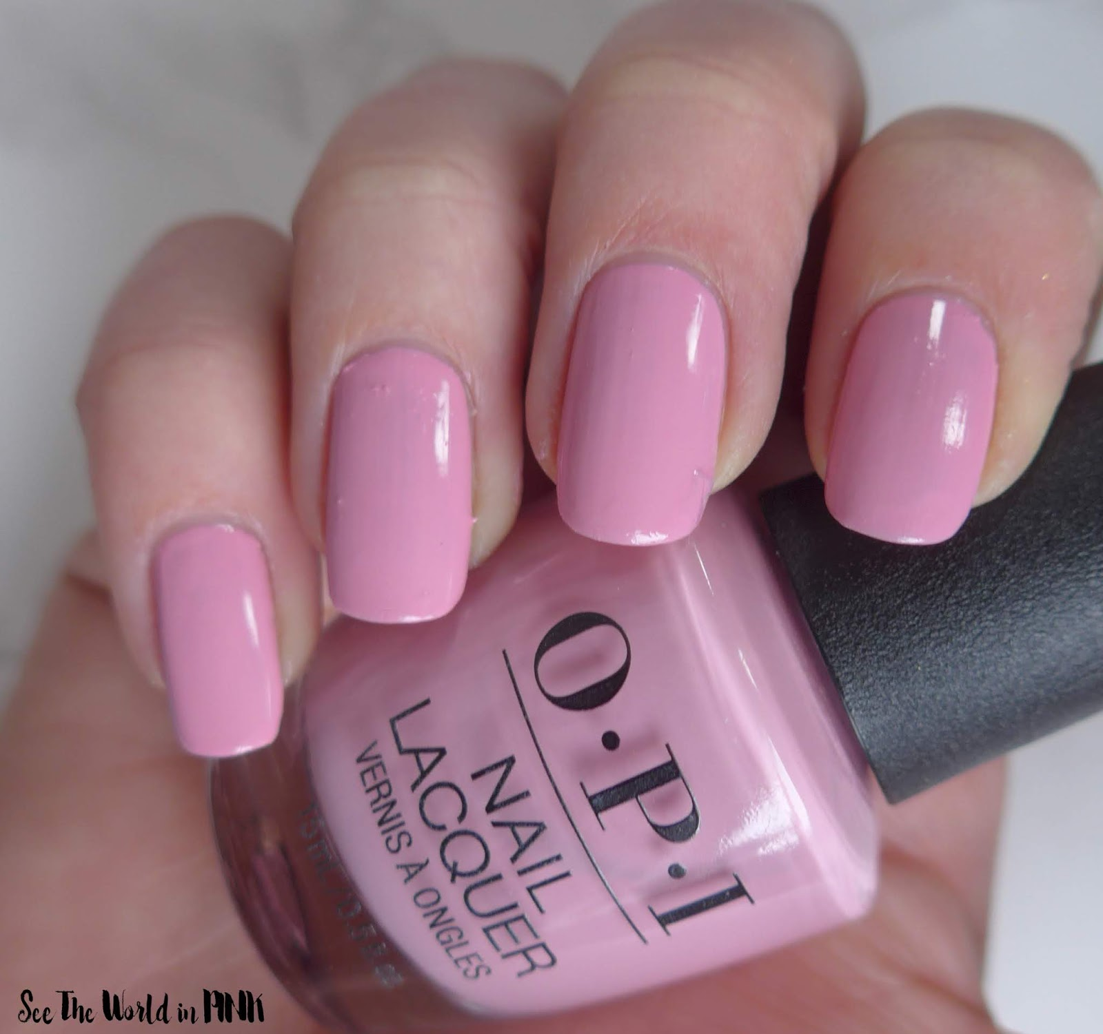 Manicure Monday - OPI Tokyo Collection for Spring and Summer 2019 Another Ramen-tic Evening