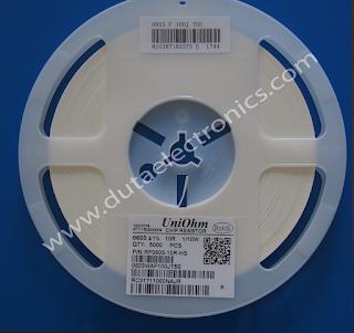 Jual Resistor SMD 10R (0603) 1% Murah Original