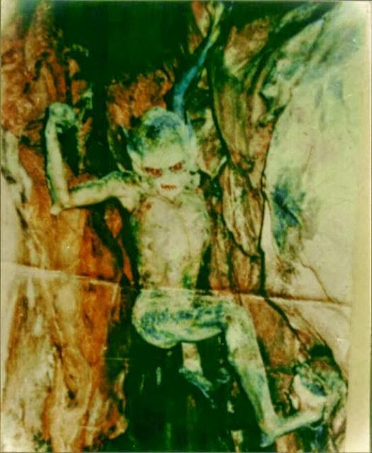Foto Alien Yang Terpendam Puluhan Tahun