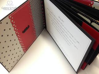czerwono czarny album na panieński na zdjęcia i życzenia hen's night galeria schaffar