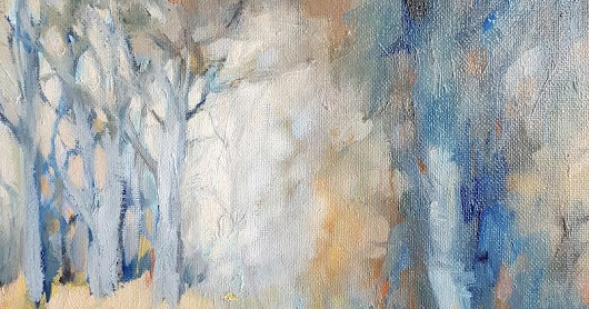 Day 12 - A re-worked woodland painting
