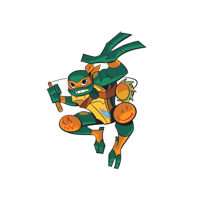 Tartarugas Ninja Michelangelo