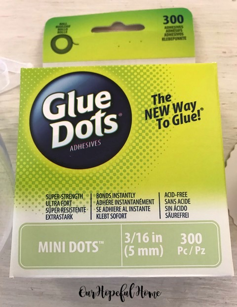 Mini Glue Dots 3/16 inch roll