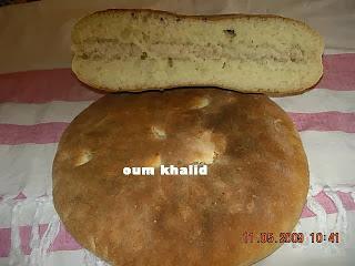 طريقة تحضير الخبز المغربي