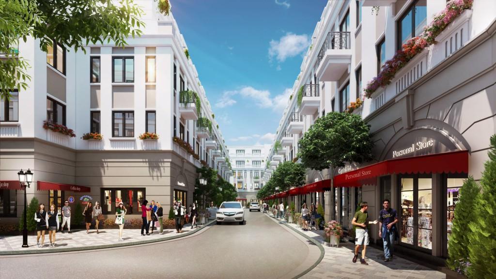 Đầu tư bất động sản đang đổ tiền mạnh mẽ vào nhà phố thương mại