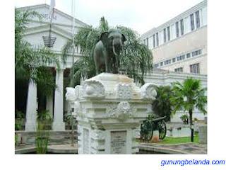 Museum Gajah terletak di Kota Bandung