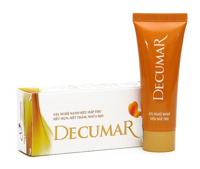 [Review] Gel Decumar có trị mụn ẩn và vết thâm không?