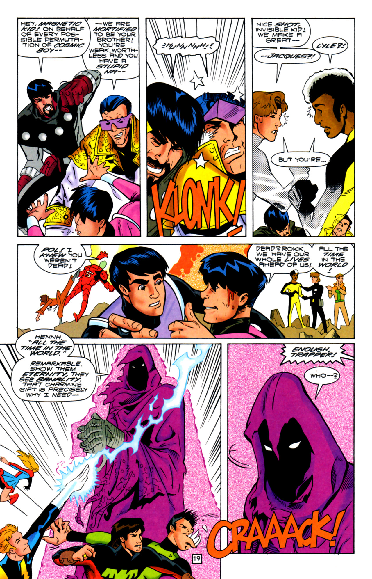 Legion of Super-Heroes (1989) 105 Page 17