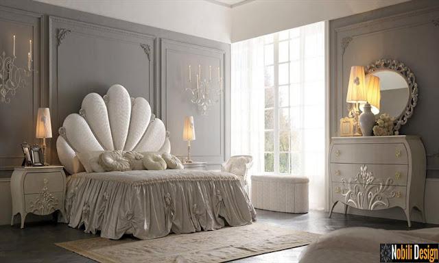Mobila italiana clasica - Mobilier dormitor / Paturi tapitate Italia