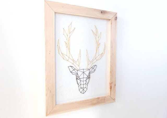 cadre tête de cerf