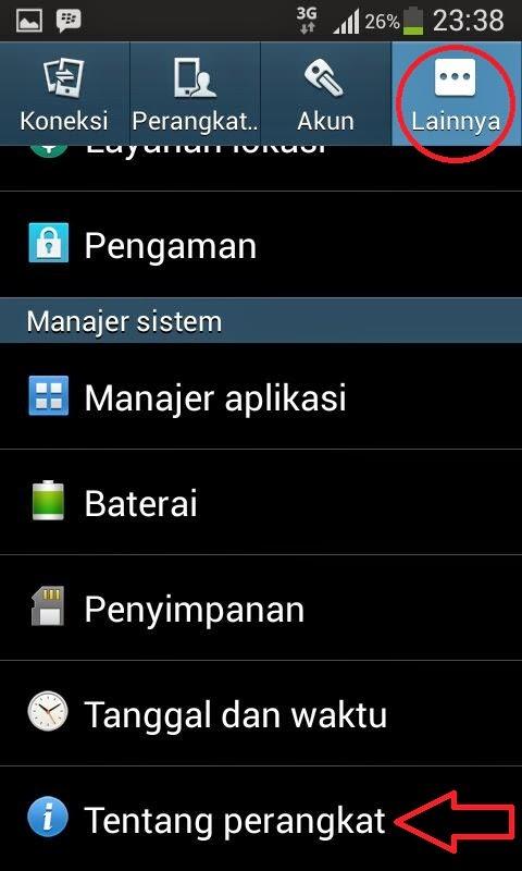 Cara Mudah Update Ponsel Dan Tablet Android