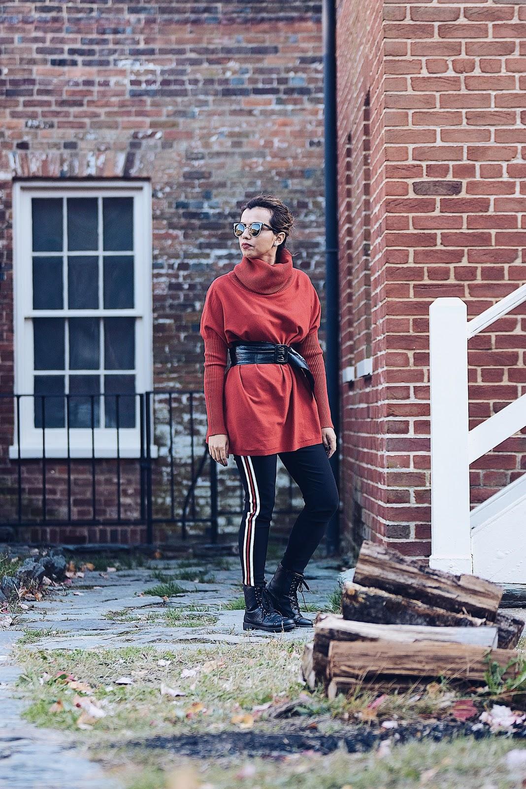 Los In Harpers Ferry by Mari Estilo. Wearing: Pants: SheIn Sweater: Choies Bag: Coach