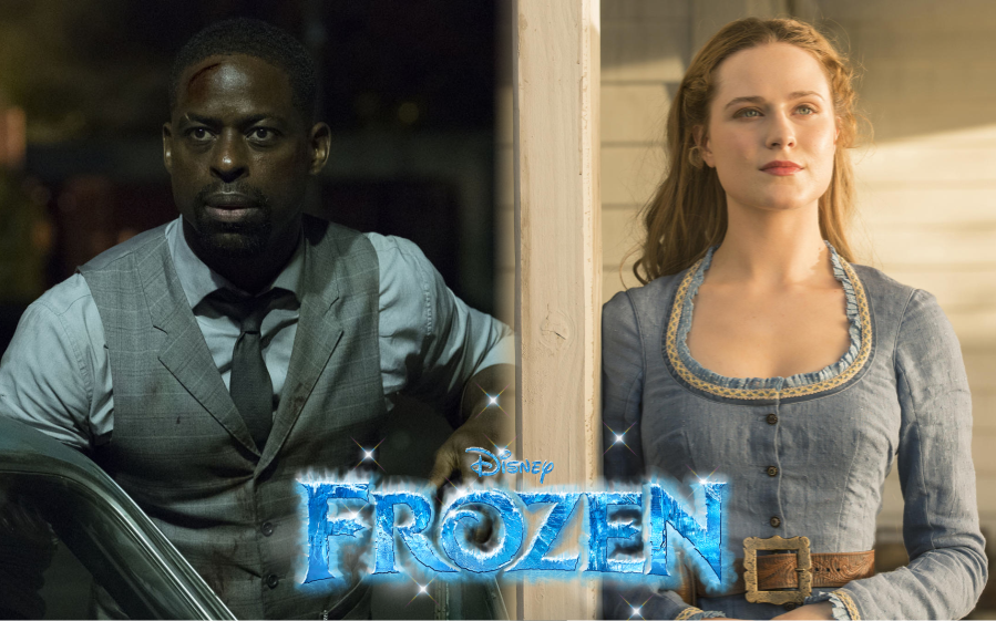 "Evan Rachel Wood e Sterling K. Brown negociam para se juntar ao elenco de ""Frozen 2"""