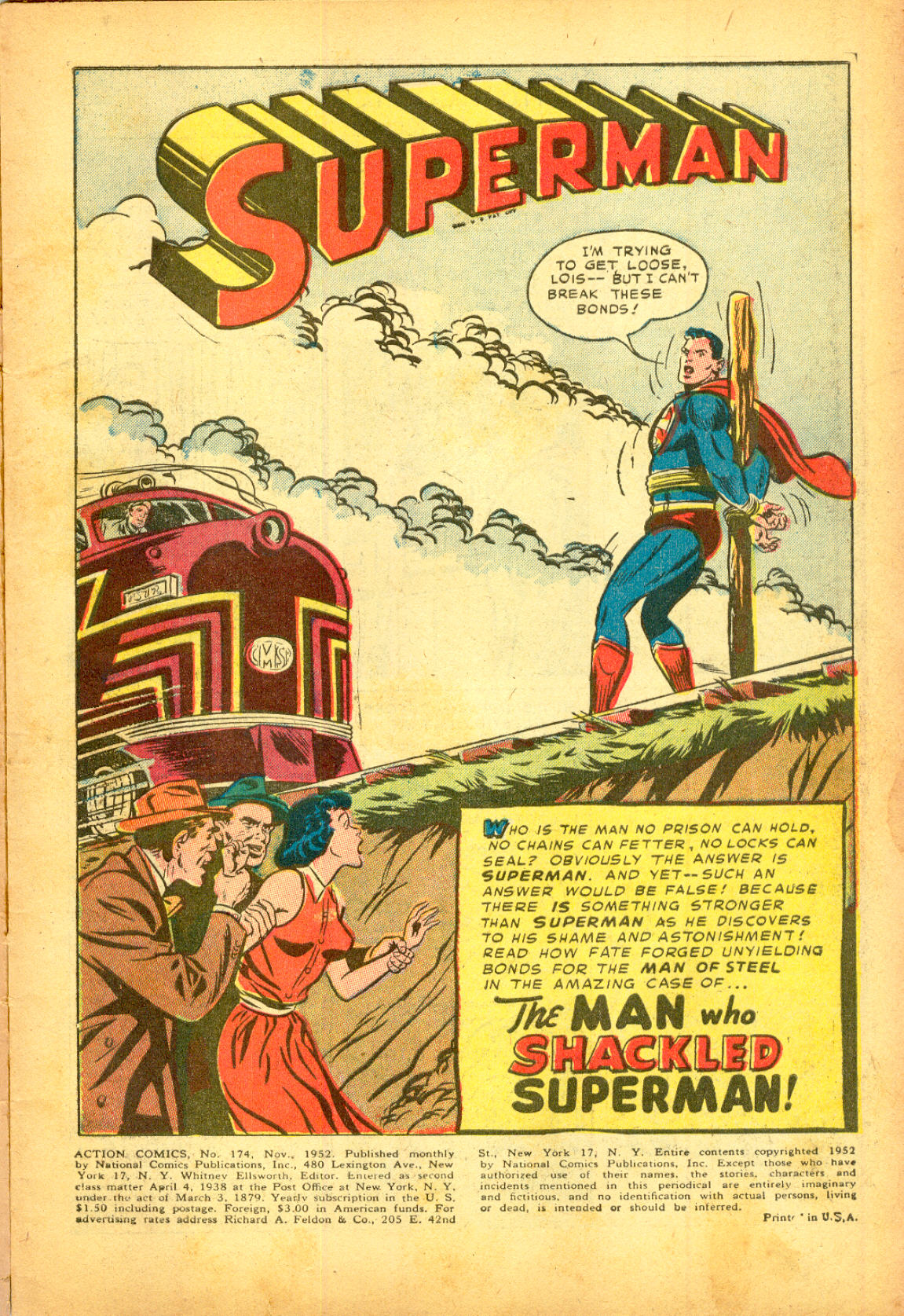 Read online Action Comics (1938) comic -  Issue #174 - 3