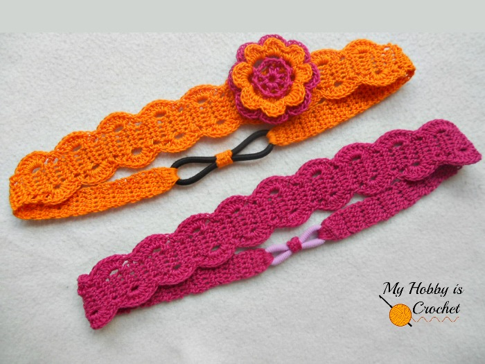 My Hobby Is Crochet  Thread Headband - Free Crochet Pattern with ... 0029c63fd79