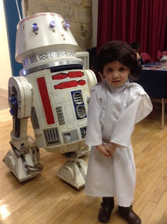 Princess and droid