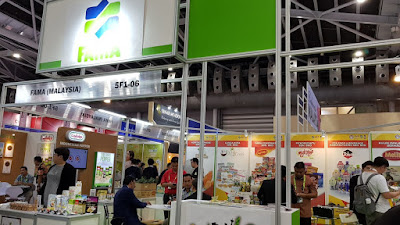 The Federal Agriculture Marketing Authority (FAMA) booth.