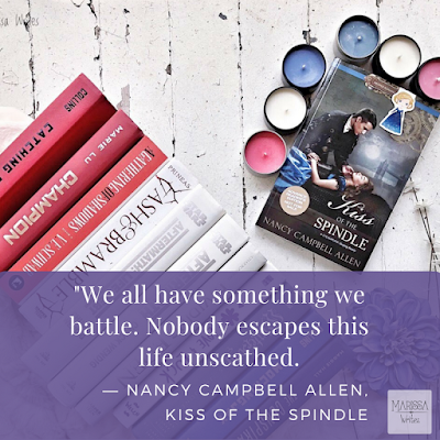 Kiss of the Spindle by Nancy Campbell Allen - Book Review on Reading List