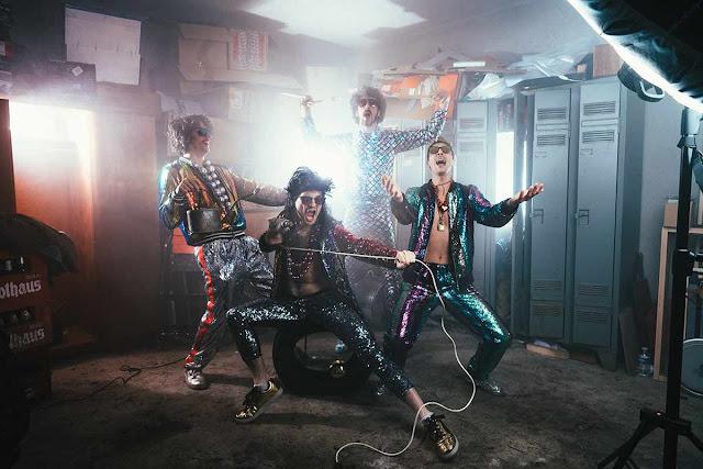 The Fat Badgers promettent d'enflammer leur public avec leur nouvel album Soul Train.