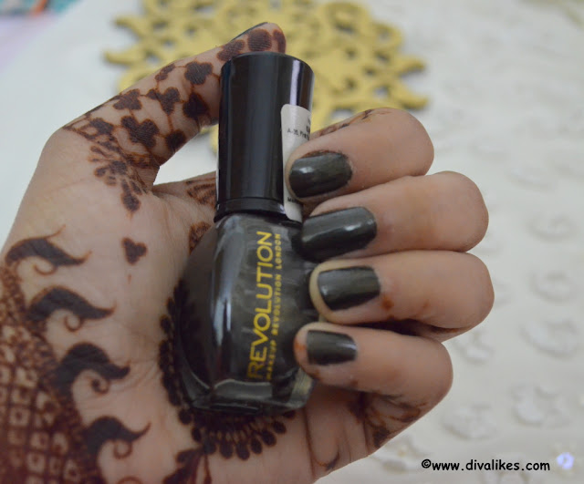 Makeup Revolution Nail Polish Maybe Tonight Review