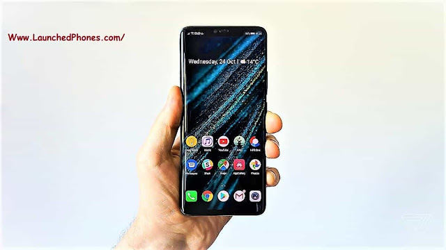 This flagship mobile cry upwardly launched amongst the  Huawei Mate xx Pro launched for Indian users