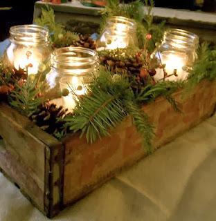 decorar la mesa con velas