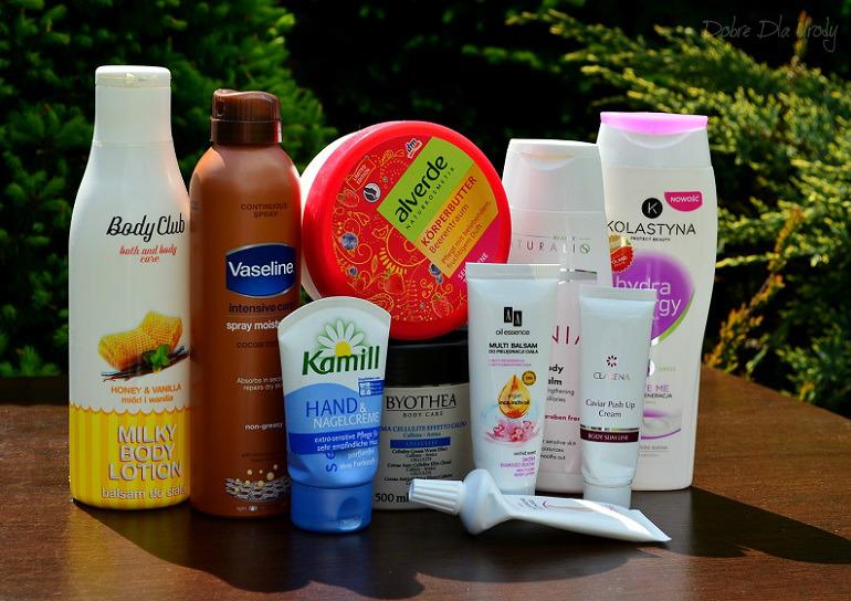 Denko - zużycia kosmetyczne - styczeń, luty,marzec - pielęgnacja ciała