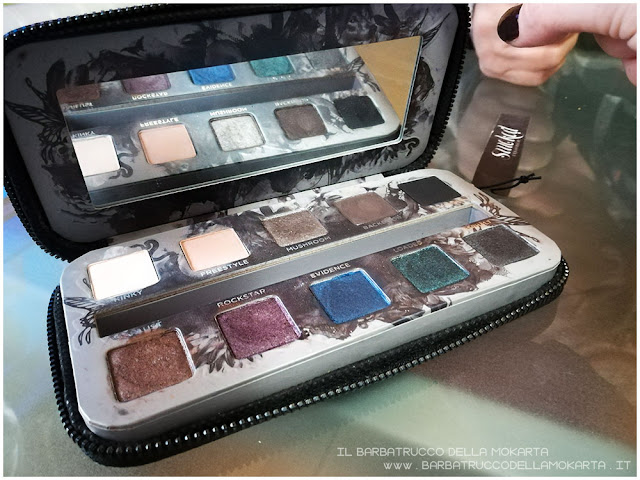 Smoked Palette Urban Decay makeup