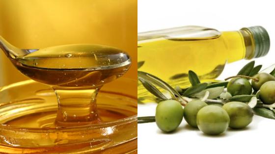 umectacao com azeite e mel