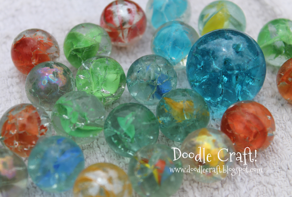 Shattered Glass Marble Tutorial
