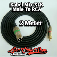 Kabel Mic XLR Male To RCA