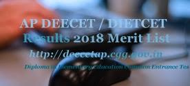AP DEECET 2018 Results | AP DIETCET 2018 Results | AP TTC 2018 Results