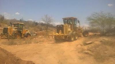 Prefeitura de Picuí continua recuperação de estradas da zona rural