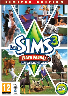 Los Sims 3 Vaya Fauna 2011 PC Full Español Fairlight Expansión Pets