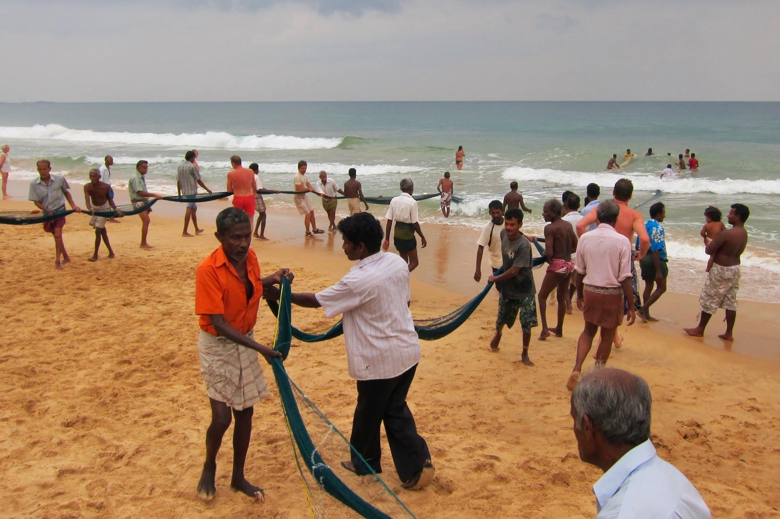 Hikkaduwa på Sri Lanka