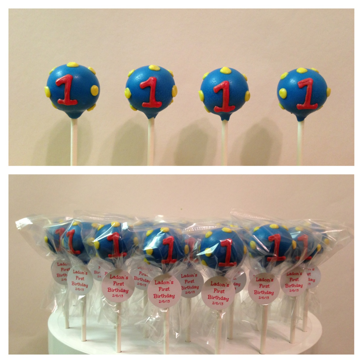 Vypassetti Cake Pops March 2013