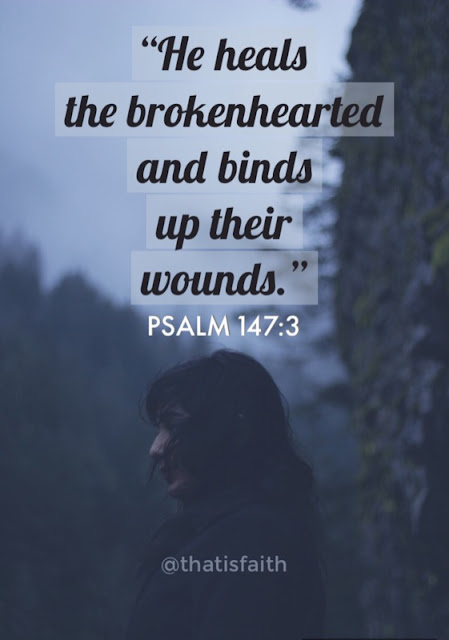 Jesus heals the brokenhearted