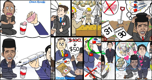 Komikus Jepang Dianggap Menghina Presiden Jokowi
