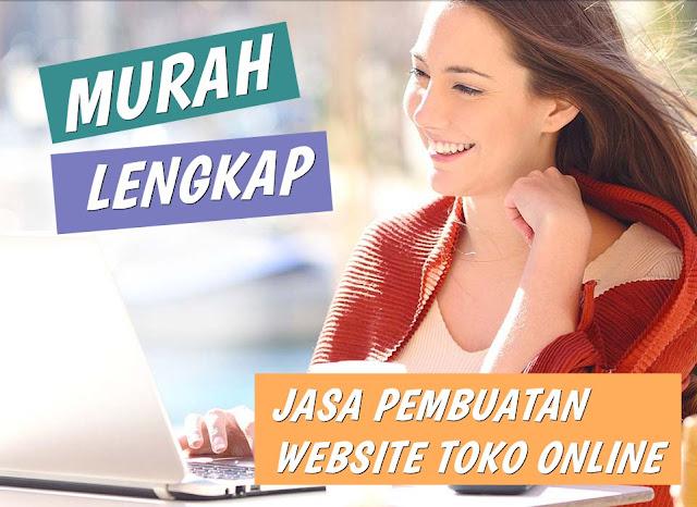 Jasa Toko Online Profesional Harga Murah