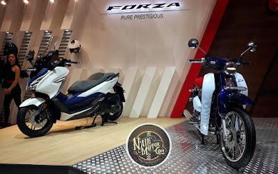 Honda Forza dan Super Cub C125