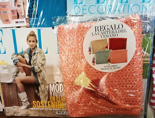 Revista Elle Cuidarsealos50